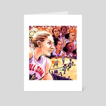 WNBA All Stars 2019 - Team Delle Donne - Art Card by Kevin Czap