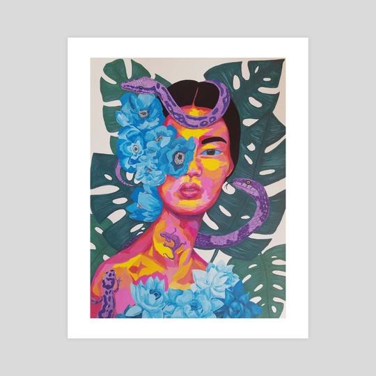 cobra lily by Linda Bluth