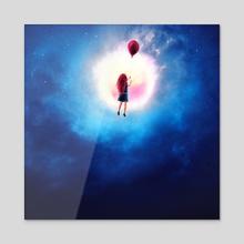 Dreamer - Acrylic by Ryan Laing