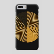 Golden Sweep - Phone Case by Deli Bobs
