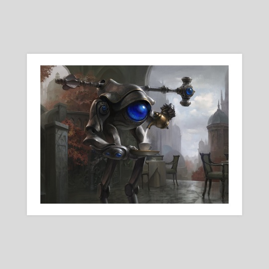 Dovin's Automaton (Ravnica Allegiance) by Adam Paquette