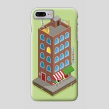 Jumbo's Building - Phone Case by Onno Knuvers