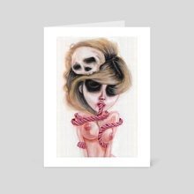 Ghostly Dull Senses - Art Card by Rouble Rust