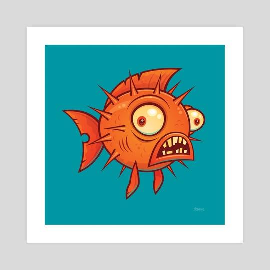 Pufferfish by John Schwegel