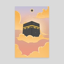 The Kaaba - al-Ka'bah al-Musharrafah - Canvas by Usama Khalid