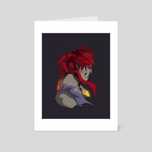 Evil RYU  - Art Card by Kode Subject