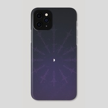 Strike the Sky v2 - Phone Case by saturn.falls