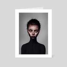 Big Eyes - Art Card by Laura H. Rubin