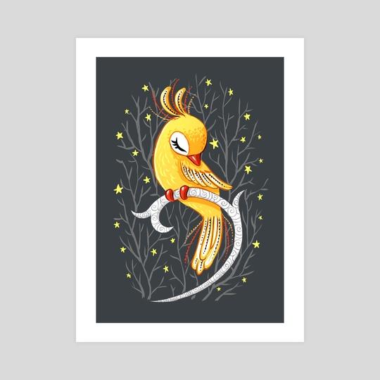 Magic Canary by Indré Bankauskaité