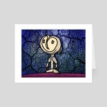 Cute ET Fantasy Illustration - Art Card by Daniel Ferreira Leites