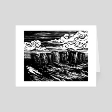 Stonehenge - Art Card by Phil Lang