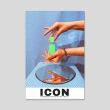 """""""Icon"""" - Acrylic by Kenneth Thomas"""