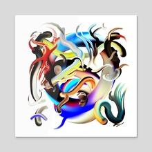 You Got Me - Acrylic by Francisco Galarraga