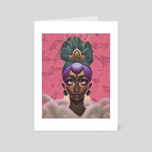 "Circlet - Art Card by Ejiwa ""Edge"" Ebenebe"