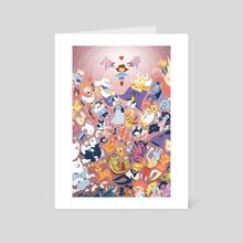 Last Goodbye - Art Card by Justyna Babinska