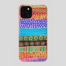 MiMano Art no 68 - Phone Case by Linda Kofoed