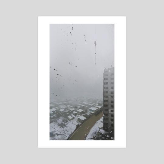 Post-apocalyptic landscape by Alexander Zienko