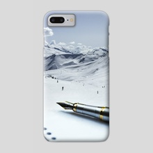 Writing Is An Adventure - Phone Case by Justin Peters