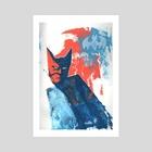 Batman - Art Print by Susanne Bergø