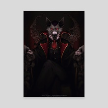 Let Evil Reign - Canvas by Suta Still