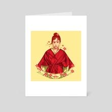 Soul Of Sakura - Art Card by Muhammad Sidik