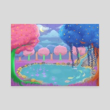 Enchanted Forest - Canvas by Ada