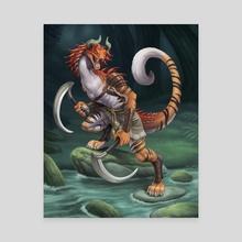 Chimera Legends - Nereus - Canvas by Sleepingfox (Shien R.W.)