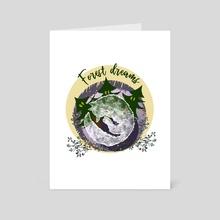 FOREST DREAMS - Art Card by Elena Zharinova
