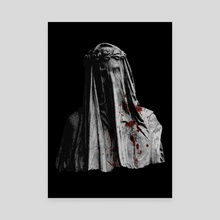 The Veiled Lady - Canvas by Sick Of Realism