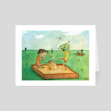 Creep - Art Card by Brinny Langlois