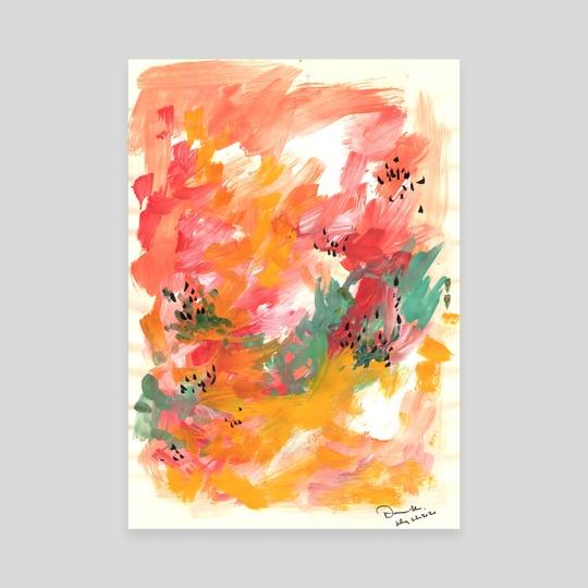 Painting Sketch 27 by Dana Krystle