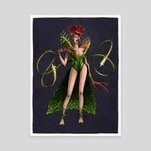 Ivy - Canvas by M. S. Corley