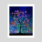 Night Spring - Art Print by Vidka Art