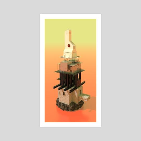Anisotropic Tower by Sasha Belousov