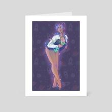 Little Wanderer - Art Card by Lavender Surles