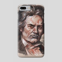 beethoven - Phone Case by mamut  rojo
