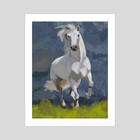 Horse - Art Print by Piotr Tekien