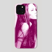 NEW POP SERIES / Angelina 1 - Phone Case by Giorgio D'Albano