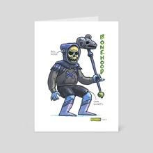 Bonehood - Art Card by Ugly Ink