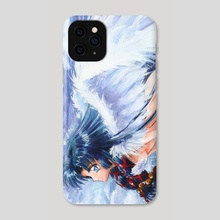 Sky Girl Anime Fanart - Phone Case by Aurora Borealis