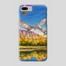 Balloon Fiesta Out of Time - Phone Case by Russell Thornton