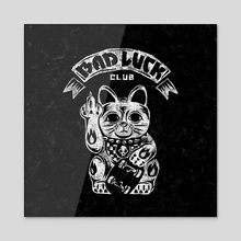 Bad Luck Club - Acrylic by saimen lee