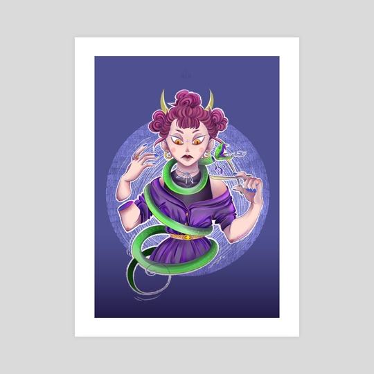 Snake by Elowings