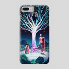 Castle in the Sky - Phone Case by Vincent Belbari