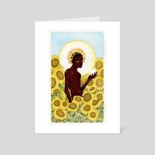 XIX The Sun - Art Card by Maura Gaven