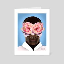 Hypermasculinity - Art Card by Amir Williams