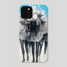 Facades - Phone Case by Mark Facey