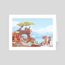Summer in Tokyo-3 - Art Card by JB Betz