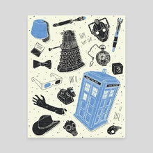 Artifacts: Doctor Who - Canvas by Josh Ln