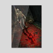 Deadpool - Acrylic by Xav DRAGO